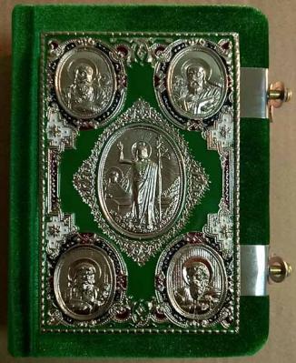 Евангелие требное : м/ф, бархат, металл. оклад, эмаль - купить в интернет-магазине