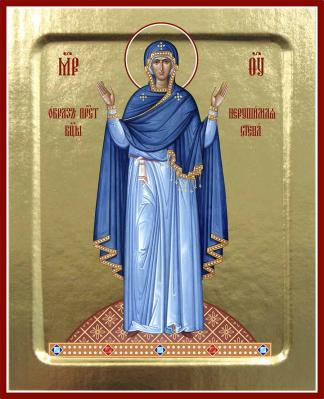 Икона Пресвятой Богородицы Нерушимая стена на дереве: 125 х 160 - купить в интернет-магазине