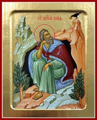 Икона пророка Илии на дереве: 125 х 160 - купить в интернет-магазине