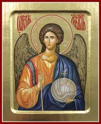 Икона Архангела Михаила (поясная) на дереве: 200 х 157 - купить в интернет-магазине