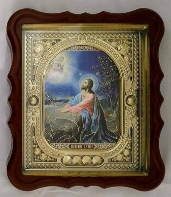 Икона Моление о Чаше в рамке: стекло - купить в интернет-магазине