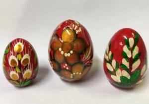 Яйцо деревянное среднее: Пасхальное - купить в интернет-магазине
